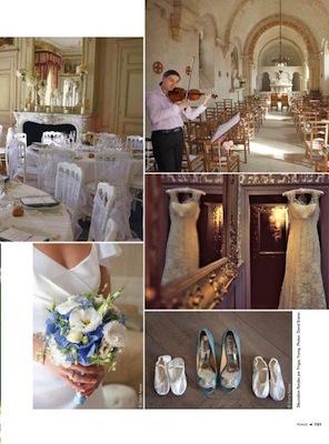 Femme mag Liban_mariage_wedding_Chateau de Varennes_8_Bourgogne
